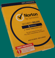 Symantec Norton Security Deluxe for PC/Mac/Mobile - 5 Devices (21364328)