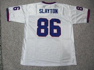 DARIUS SLAYTON Unsigned Custom Sewn New York New White Football Jersey Sze S-3XL