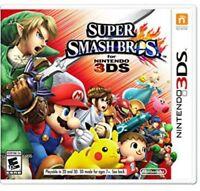 Super Smash Bros. - Nintendo 3DS Brand New