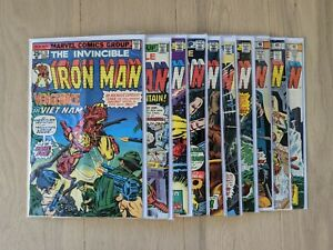 Iron Man Full Run #78 #79 #80 #81 #82 #83 #84 #85 #86 #87 Bronze Age Marvel Lot