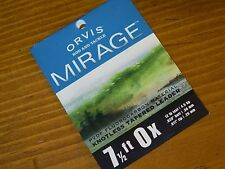 Orvis Mirage Knotless Tapered Leader 7.5 ft 0X