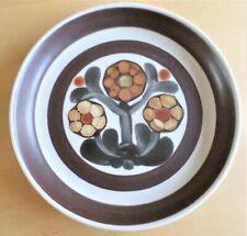 "Denby Langley Mayflower Tea Side Bread & Butter Plate 6.5"" Brown Floral Pattern"