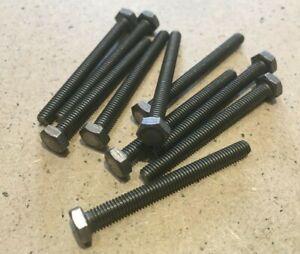 2 BA x 1 3/4  inch Hex Steel Srews Full Tread Plain Head. British Made.