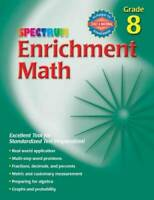 Enrichment Math, Grade 8 (Spectrum) - Paperback By Spectrum - GOOD