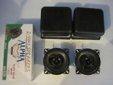 "4"" Universal Altavoz Carcasa Caja para coche, Camioneta, etc con altavoces 60w"