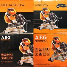 AEG PS 216 L Kappsäge Gehrungssäge Zug Säge + Staubabsaugung 1500W LED