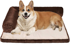 New listing Xslive Small Memory Foam Dog Bed - Luxury Rectangle Pet Bed for Anti Anxiety & -