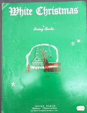 White Christmas by Irving Berlin c. 1940