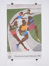 Poster Plakat - Olympiade 1972 München - Jacob Lawrence - Pop Art