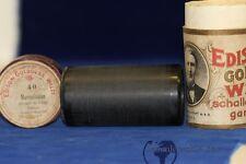 Phonographen Edison Goldguss Walze Weh Das Wir Scheiden Müssen Nr Film & Kleinkunst 15106