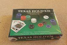 Texas Hold'em Casino style Poker set