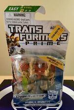 TRANSFORMERS PRIME CYBERVERSE FALLBACK WITH WAVE BLASTER 2012 HASBRO NEW SEALED