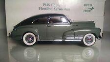 Danbury Mint 1948 Chevrolet Fleetline Aerosedan *Two Tone Green