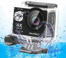 AKASO EK700 4K Wi-Fi Sports Waterproof Action Camera - Black