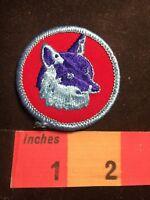 Vtg BSA Boy Scout (Blue Wolf ?) Patch 80G3