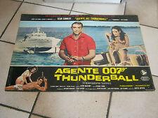AGENTE 007 THUNDERBALL,SEAN CONNERY,CELI fotobusta OPERAZIONE TUONO