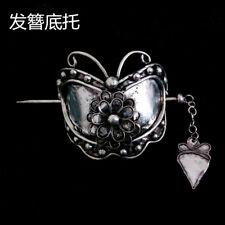 Classic Hair Accessory tribal pure handmade filigree Miao silver hairpin 1piece