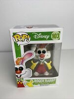 Funko Pop! Disney Roger Rabbit #103 Vaulted Vinyl Figure W/Protector