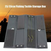 4 Ways Fishing Tackle Box Storage Case Carp Pike Stiff Rig Accessories Wallet ~