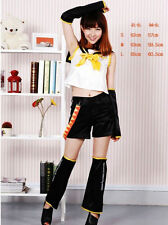 Anime VOCALOID 2 Vocaloid Kagamine Rin Cosplay Costume
