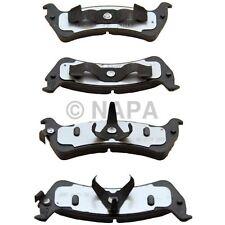 Disc Brake Pad Set Rear NAPA/ADAPTIVE ONE BRK PADS-ADO AD7545A