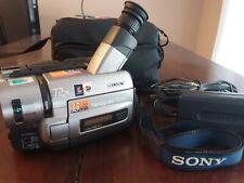 Sony Handycam Vision CCD-TRV85 Video Hi 8 Camcorder Camera 72X Steady Shot