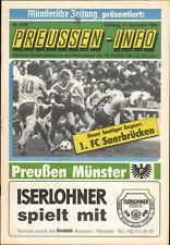 II. BL 89/90 SC Preußen Münster - 1. FC Saarbrücken, 11.11.1989