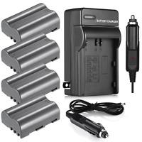 2200mAh EN-EL3e Battery & Charger for Nikon D50 D70 D80 D90 D100 D200 D300S D700