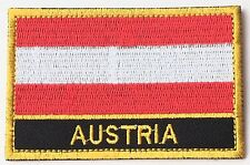 Austria Embroidered Sew or Iron on Patch Badge