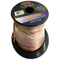 Pyle PSC1250 12 AWG High Quality Speaker Wire 50 ft. Spool