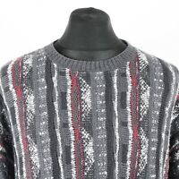 90s Vintage Cosby Sweater | Jumper Knit Knitwear 3D Hip Hop Retro Biggie