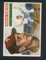 1956 Topps #60 Mayo Smith EX/EX+ Phillies Grey Backs 132069