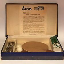 VINTAGE EMILIOS IONAS & BROS SPORTS TABLE TENNIS PING PONG SET BOXED RARE
