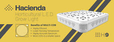Hacienda H9 400W COB LED Hydroponic Grow Light Growth Bloom & Full Spectrum