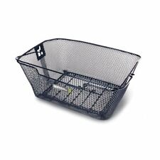 Basil Capri Rear Hook-On Basket - Black  (rear Rack Required sold separately)