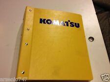 D31P, PL-20, D31PLL-20 Komatsu Parts Book Bulldozer
