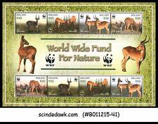 MALAWI - 2003 WWF / ANIMALS / ANTELOPE - MIN. SHEET MINT NH