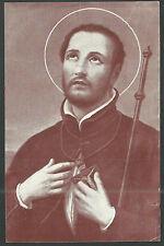 Estampa de San Francisco Javier andachtsbild santino holy card santini