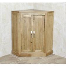 Bathroom Vanity Unit Free Standing Oak Corner Cabinet 501B