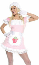 NWT Forplay Strawberry Tart Costume Women's S/M 2-5 Sexy Dress Up