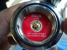 5/8 WAVE DUAL BAND 2 METER 144 / 440 Mhz ANTENNA TRAM 1180 NMO