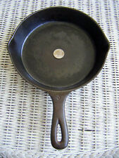 martin stove & range Co. skillet no.5 with heat ring 2 dot handle Excellent Look