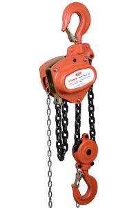 NEW industrial lifting equipment Chain Block 10t x 6mtr