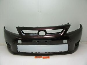FRONT BUMPER COVER SIZZLING CRIMSON MICA DAMAGED RED CAR for 11 12 13 SCION tC