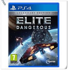 PS4 Elite Dangerous Legendary Edition SONY Frontier Developmen Simulation Games
