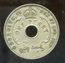 AFRIQUE de L'OUEST 1 one  penny  1940  ( british colony )