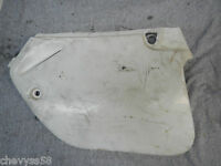 LEFT HAND SIDE COVER NUMBER PLATE 1993 93 HONDA CR250R CR250 CR 250 250R R