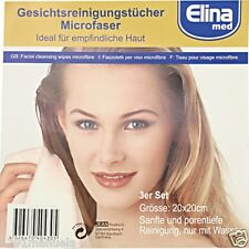 5x Microfaser Gesichtsreinigungstücher 3 er Set  Pflege Reinigung Gesicht Tücher