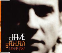 Dave Gahan CD Single I Need You (Mute – CDMUTE301) - Europe (M/M)