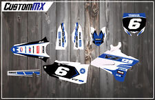 Yamaha YZ125 YZ250 & UFO Restyled Plastics Full Semi-Custom Graphics Kit